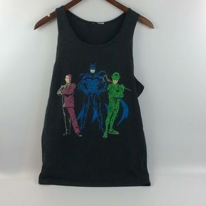 Other - Vintage batman joker and 2 face tank top